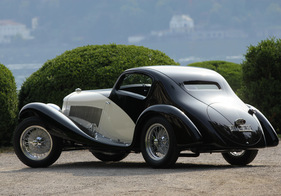 Bild (1/1):  Alfa Romeo 6C 1750 GS 6th Series Coupé Figoni (1933) - am Concorso d'Eleganza Villa d'Este 2012 - Kategorie 'C - The Art of Streamlining' (© Bruno von Rotz, 2012)