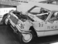 Mercedes-Benz  (1973) - Demonstration eines crash-getesteten Autos, Sicherheit ist ein Thema - Internationale Automobilausstellung (IAA) in Frankfurt 1973 (© Archiv Automobil Revue)