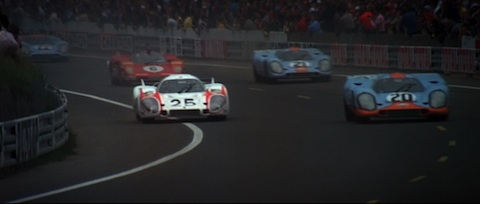"Film ""Le Mans"" - nach dem Start"