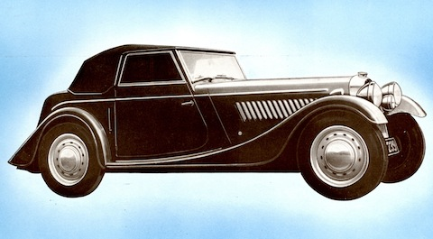 Morgan Plus Four 1957