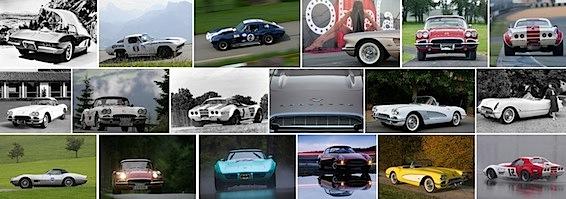 Fahrzeug-Portraits zu Corvette
