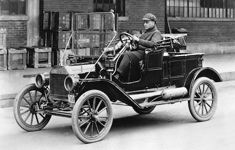 Ford Model T von 1912 (© Ford Motor Company)