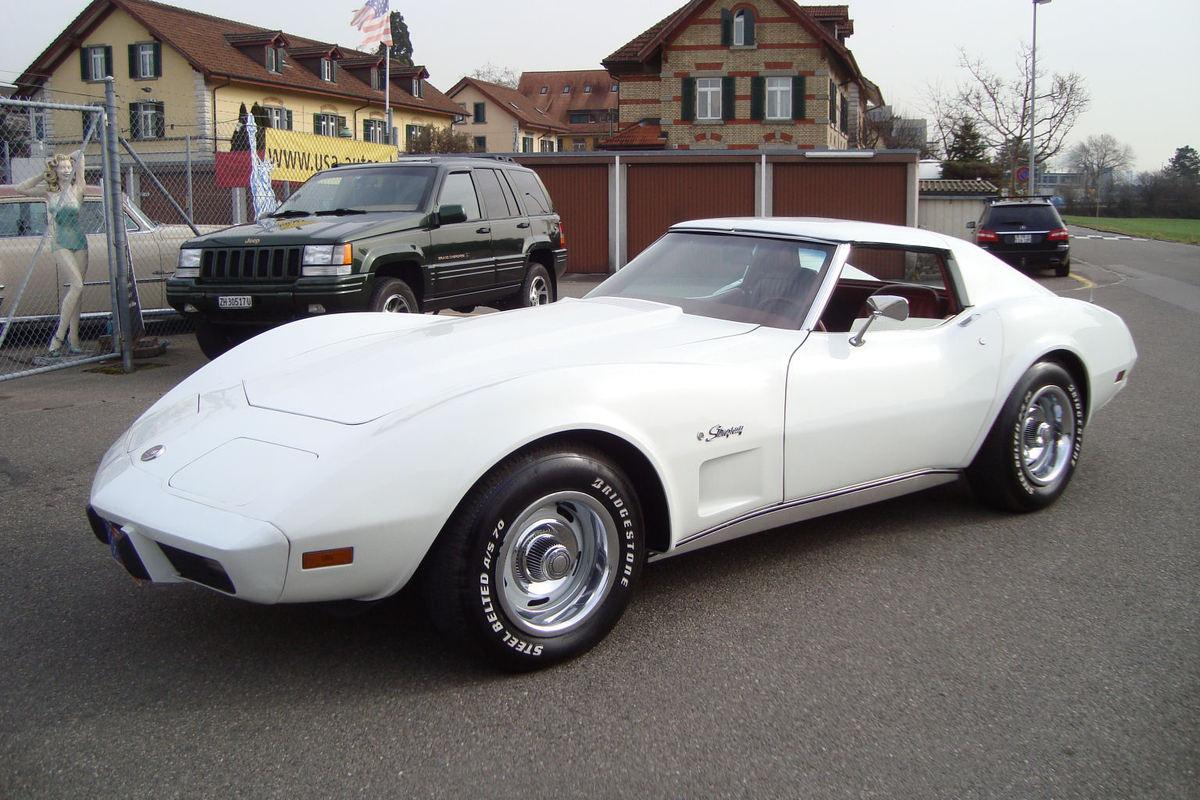 chevrolet corvette c3 stingray 1975 oldtimer kaufen. Black Bedroom Furniture Sets. Home Design Ideas