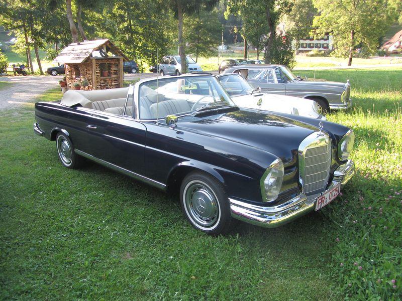 mercedes benz 220se cabrio 1968 oldtimer kaufen. Black Bedroom Furniture Sets. Home Design Ideas
