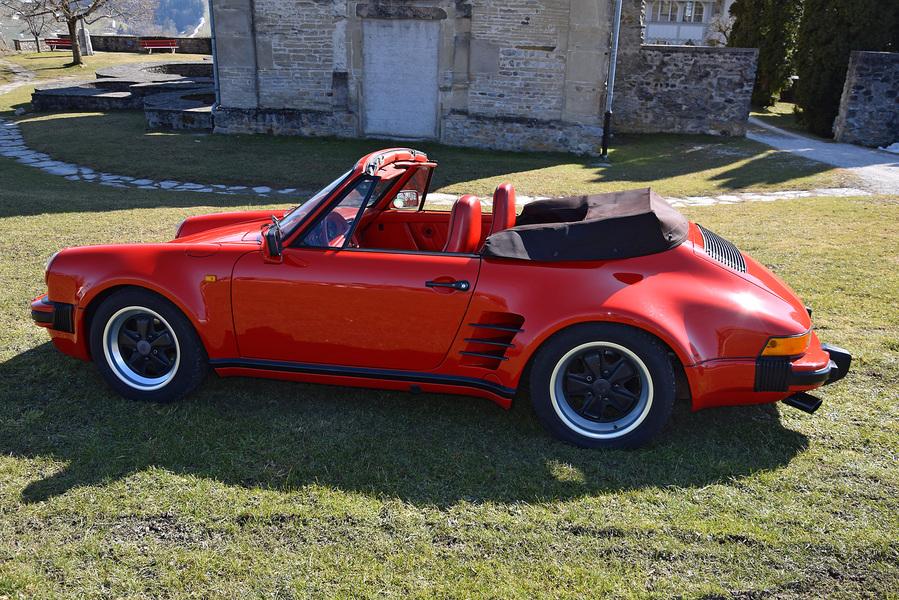 porsche 911 cabriolet turbolook 1976 oldtimer kaufen zwischengas. Black Bedroom Furniture Sets. Home Design Ideas