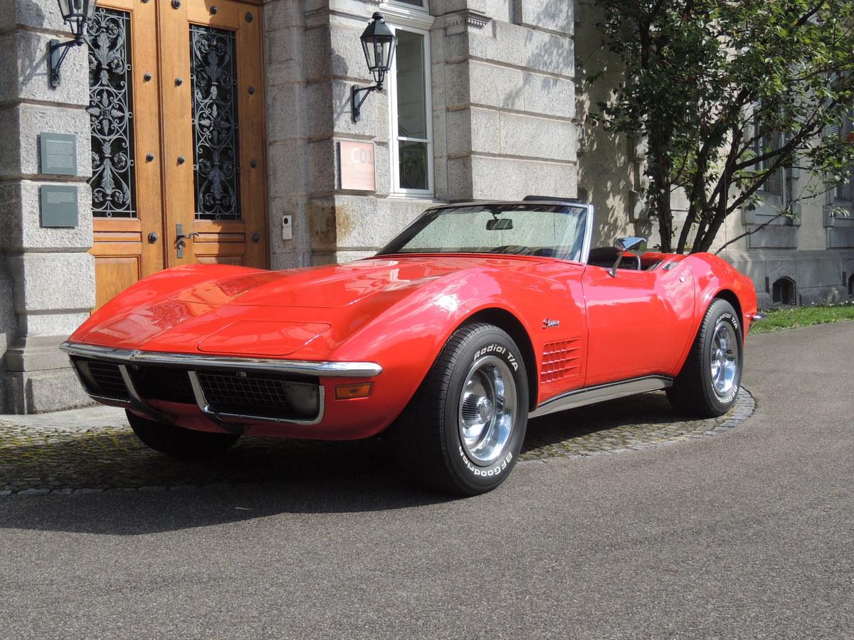 chevrolet corvette c3 1970 oldtimer kaufen zwischengas. Black Bedroom Furniture Sets. Home Design Ideas