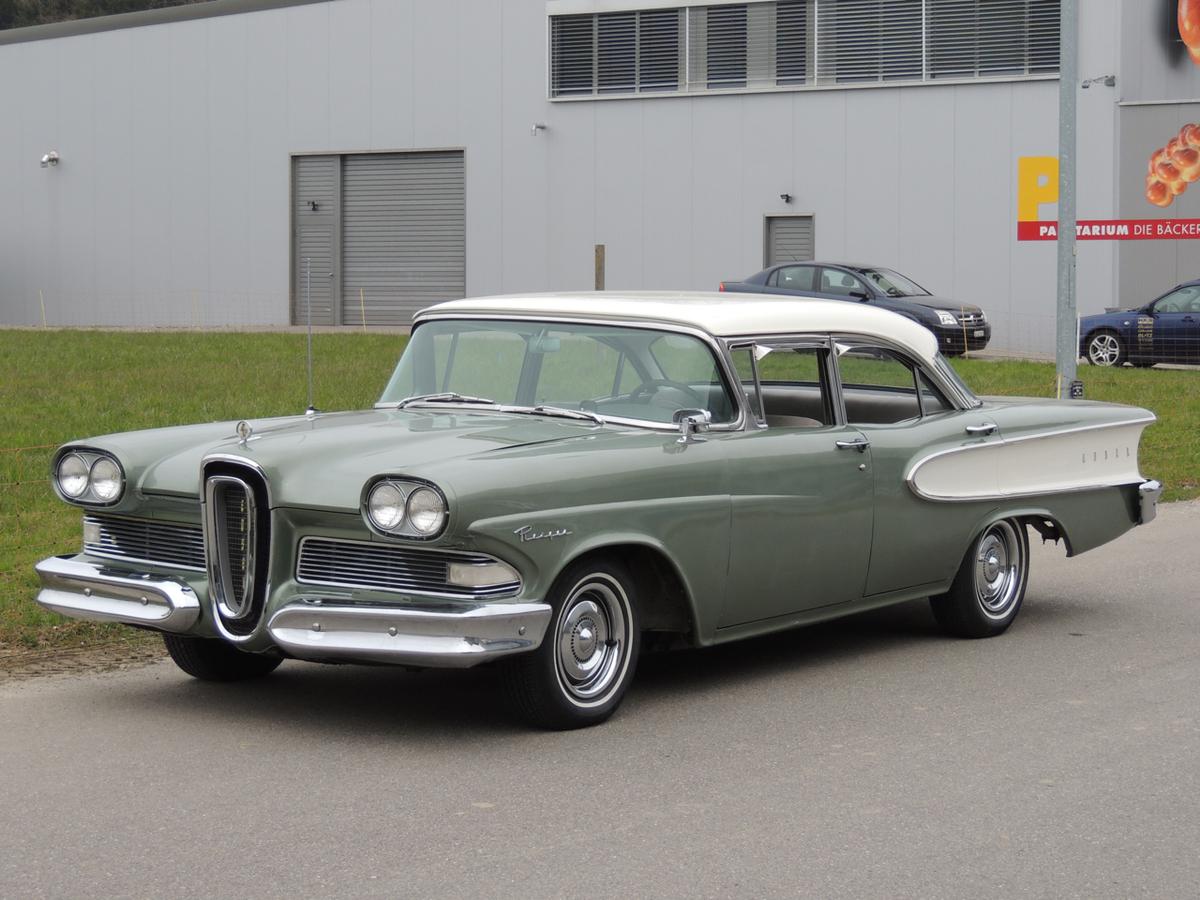 ford edsel ranger sedan 1958 oldtimer kaufen zwischengas