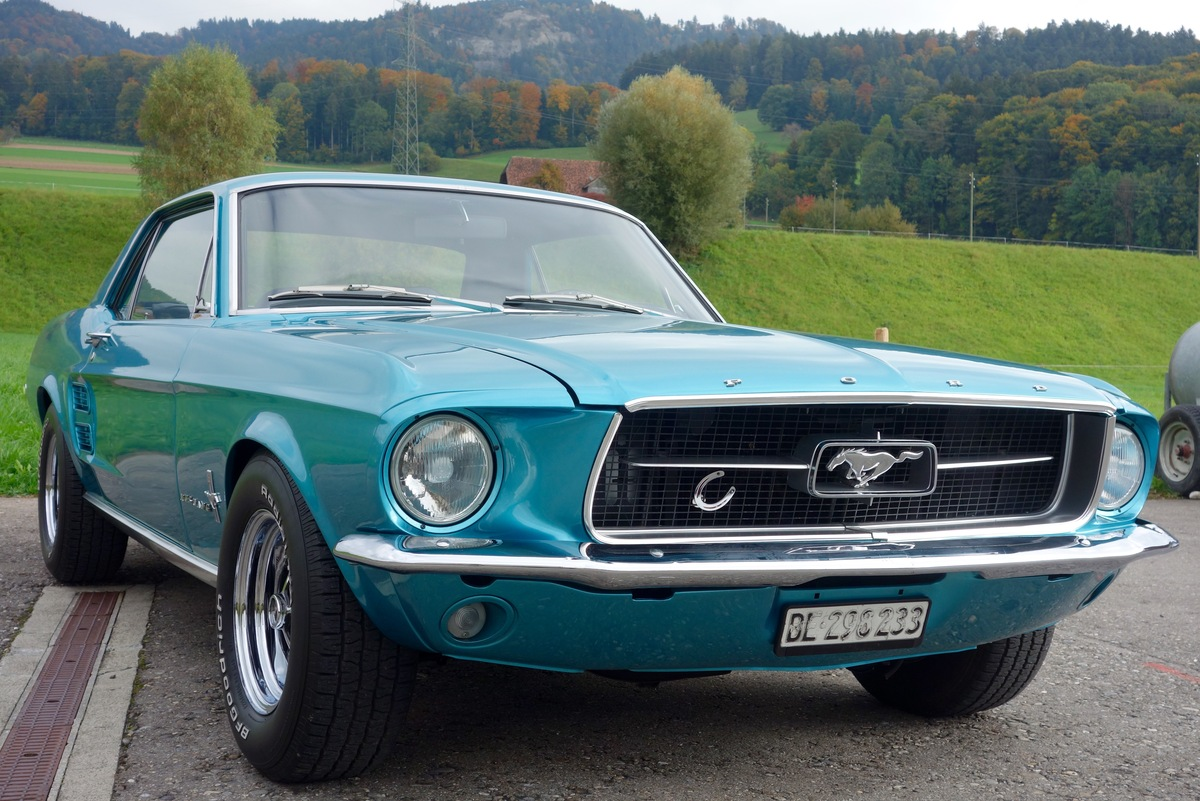 ford mustang 1967 oldtimer kaufen zwischengas. Black Bedroom Furniture Sets. Home Design Ideas