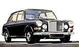 Austin Vanden Plas Princess 1100/1300 ADO 16, links gelenkt (1965 - 1974)