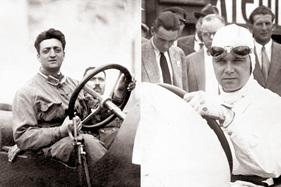 Foto Galerie Leidenschaft Passione Enzo Ferrari Und Rudi Caracciola Rennfahrer Zwischengas
