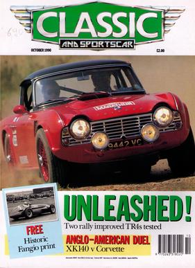 Titelbild zu «Classic & Sports Car / Nr. 10 (1990)»