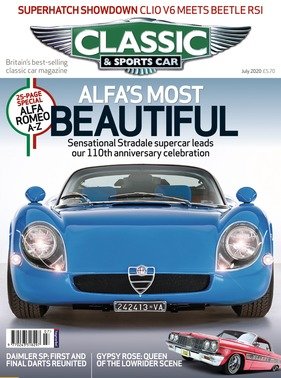 Titelbild zu «Classic & Sports Car / Nr. 7 (2020)»