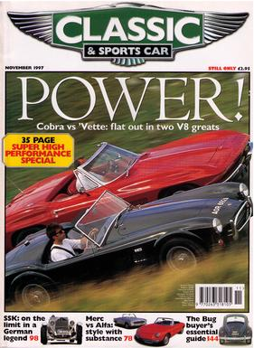 Titelbild zu «Classic & Sports Car / Nr. 11 (1997)»