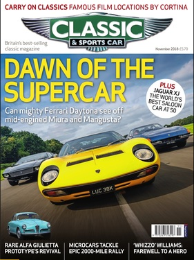 Titelbild zu «Classic & Sports Car / Nr. 11 (2018)»