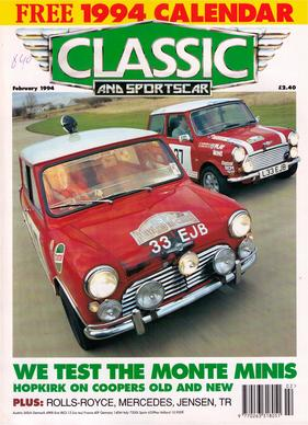 Titelbild zu «Classic & Sports Car / Nr. 2 (1994)»