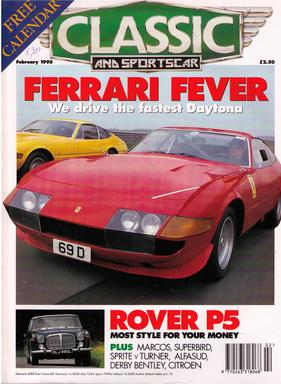 Titelbild zu «Classic & Sports Car / Nr. 2 (1995)»