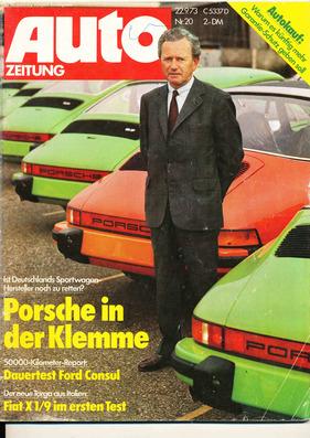 Auto Zeitung / Nr. 20 (1973) | Zwischengas