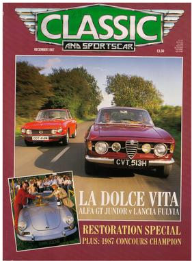 Titelbild zu «Classic & Sports Car / Nr. 12 (1987)»