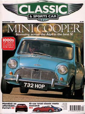 Titelbild zu «Classic & Sports Car / Nr. 12 (1997)»