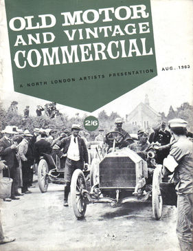 Titelbild zu «Old Motor and Vintage Commercial / Nr. 2 (1963)»