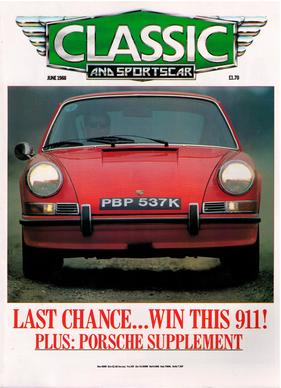 Titelbild zu «Classic & Sports Car / Nr. 6 (1988)»