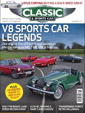 Titelbild zu «Classic & Sports Car / Nr. 6 (2019)»