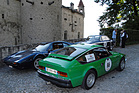 Alfa Romeo 1600 junior Z (1973) beim Schloss Chillon am Grand Prix Montreux 2014 (2014)
