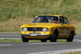 Alfa Romeo Giulia Sprint GT (1965) am Jochpass Memorial 2011 (Start-Nr. 110) (1965)