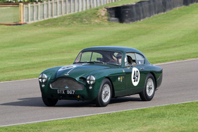 Aston Martin DB 2/4 Mk III (1957) - im Rennen um die Fordwater Trophy am Goodwood Revival 2013 (1957)