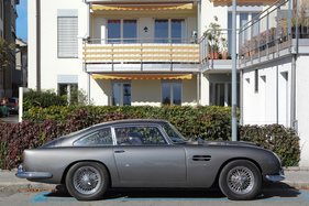 Aston Martin DB4 Vantage - so elegant - Swiss Classic British Car Meeting Morges 2017 (1963)