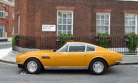 Bild Foto Aston Martin Dbs 1970 In London 1970 Aus Dem Oldtimer Foto Archiv Zwischengas