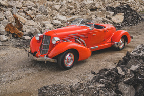 Auburn Eight Supercharged Speedster (1935) - als Lot 6142 angeboten an der RM Auctions Auburn Fall Versteigerung vom 3. bis 5. September 2020 (1935)
