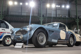 Austin-Healey 3000 Mark II BT7 Roadster Compétition (1962) - als Lot 404 versteigert an der Bonhams Grand Palais Verteigerung in Paris am 4. Februar 2016 (1962)