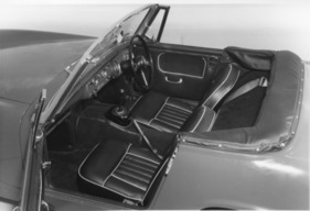 Austin-Healey Sprite Mark IV (1967) - Interieur (1967)