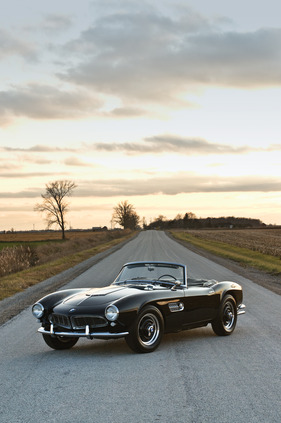 Bild (1/8): BMW 507 (1959) - verkauft an der RM Auction Arizona (19. und 20. Januar 2012) für USD 990'000 (© Aaron Summerfield - courtesy of RM Auctions, 2011)