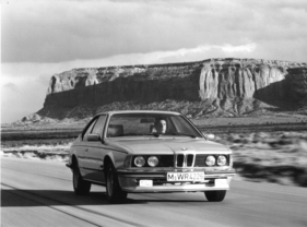 Bild (12/16): BMW 635 CSI (1982) - unterwegs in Amerika (Archivbild)