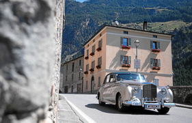 Bentley S1 (1955) - am British Classic Car Meeting St. Moritz 2015 (1955)