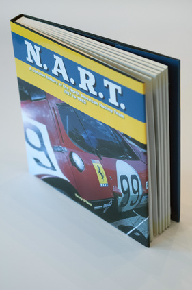 "Bild (1/16): Buch ""N.A.R.T. - a concise history of the North American Racing Team"" - Cover (© Veloce Publishing Ltd (Repro Zwischengas), 2015)"