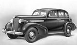 Bild (8/16): Buick Eight (1937) - Serie 40 Limousine (Archivbild)