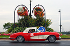 Chevrolet Corvette (1959) an der RAID Suisse-Paris 2016 (1959)