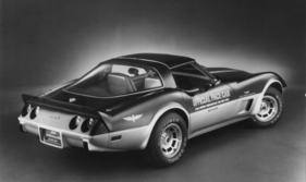 Bild (13/16): Chevrolet Corvette (1978) - als Official Pace Car (Archivbild)
