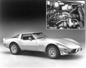 Chevrolet Corvette (1980) - Turbo-Modell mit 260 statt 195 PS (1980)