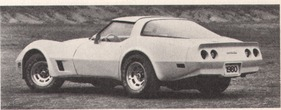 Chevrolet Corvette 5,7-Liter-V8 - 190 HP (netto) 1 Vierfachvergaser (1980)