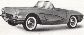 Chevrolet Corvette Vergasermotor 24/230 HP (1961)