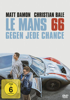 "Bild (1/14): DVD-Cover - Film ""Le Mans '66"" (© Twentieth Century Fox Home Entertainment, 2020)"