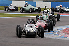 Bild (12/16): Donington Historic Festival 2015 - HGPCA pre-61 and pre-66 Grand Prix cars - Lotus 18 (© Fotograf: Jeff Bloxham, 2015)