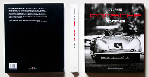 seit 70 jahren baut porsche sportwagen buchbesprechung. Black Bedroom Furniture Sets. Home Design Ideas