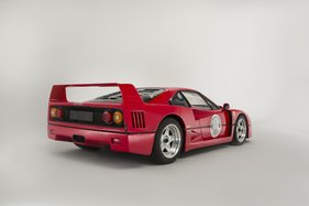 Ferrari F40 (1991) - als Lot 209 an der Bonhams Goodwood Revival Versteigerung vom 13. September 2014 (1991)