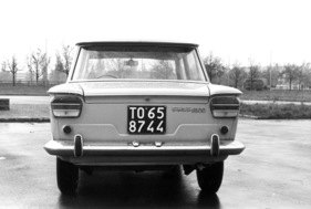 Fiat 1500 (1965) - Heckpartie (1965)