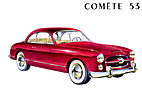 Ford Comète (1953) - Prospekt-Illustration (1953)
